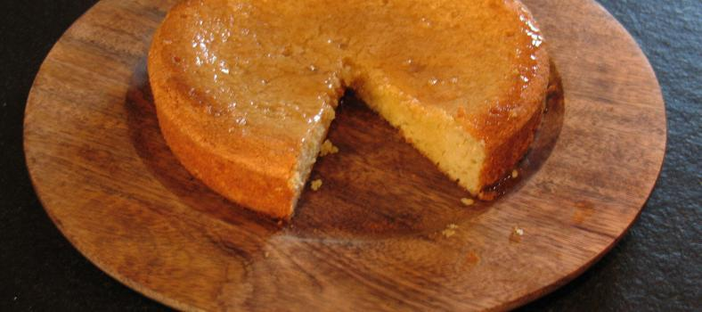 Lemon Almond Yoghurt Cake Breakfast or Tea Cake #Recipe @MasdAugustine