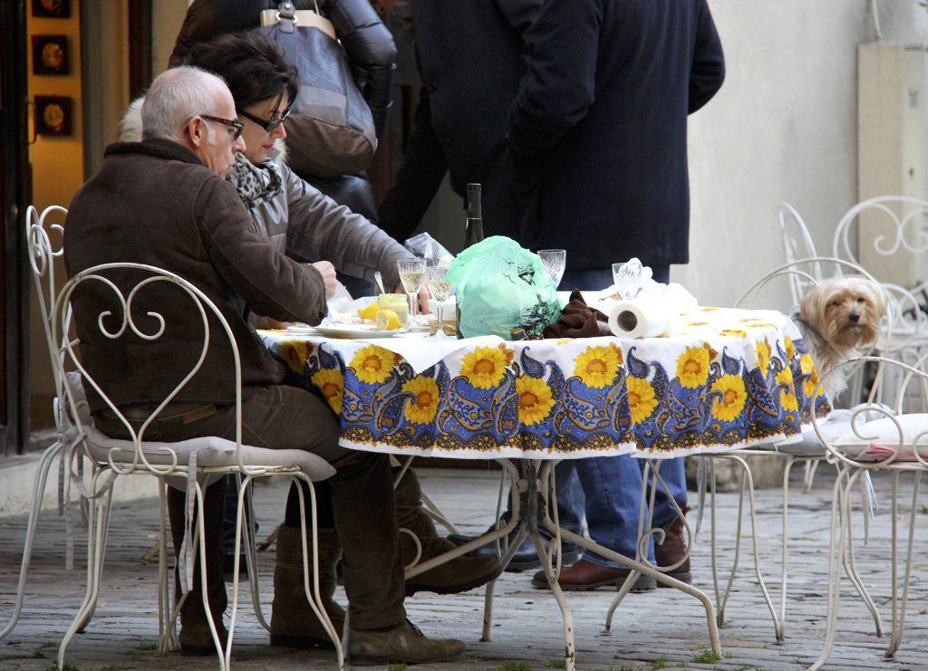 Lunch with your dog @PerfProvence
