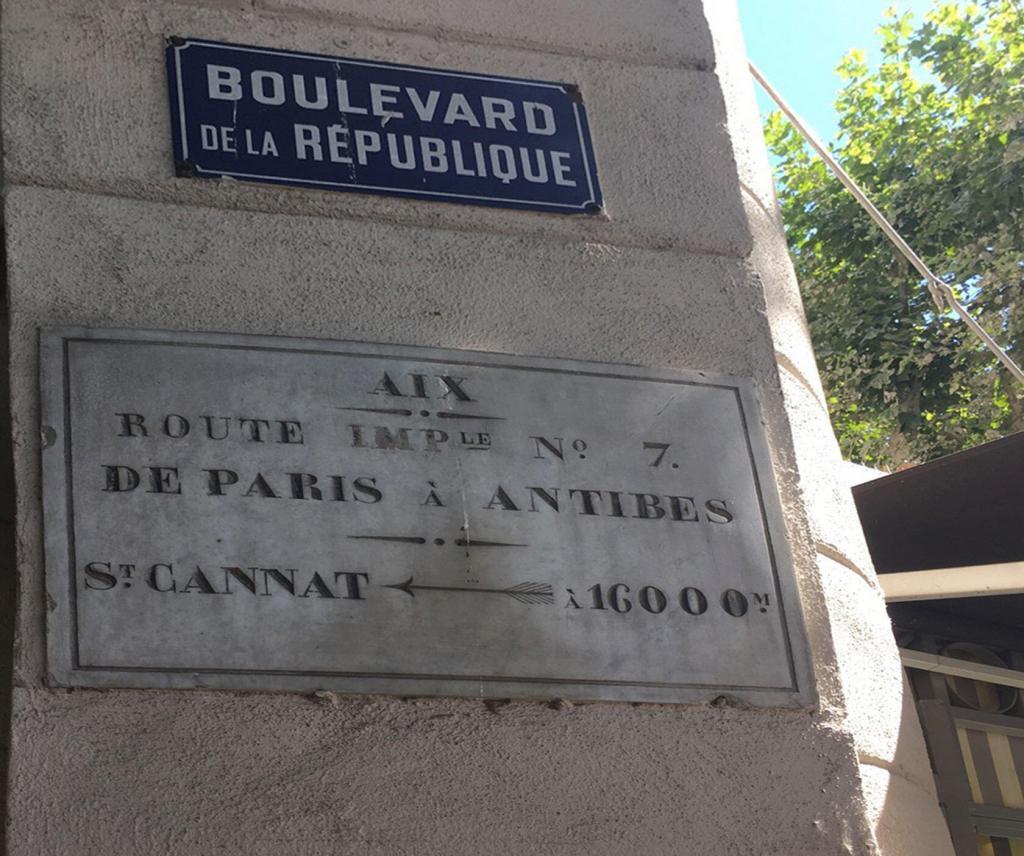 N7 sign Aix en Provence @PerfProvence