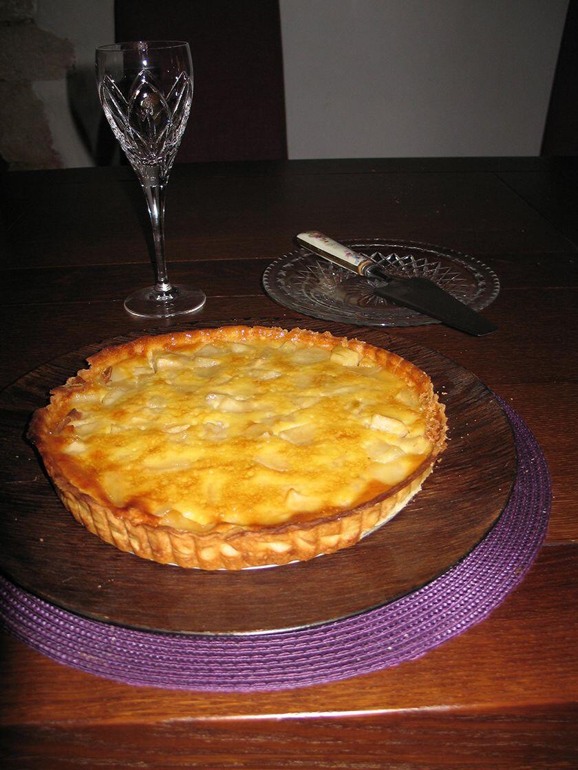 Pear and Honey Tart #Recipe @MasdAugustine