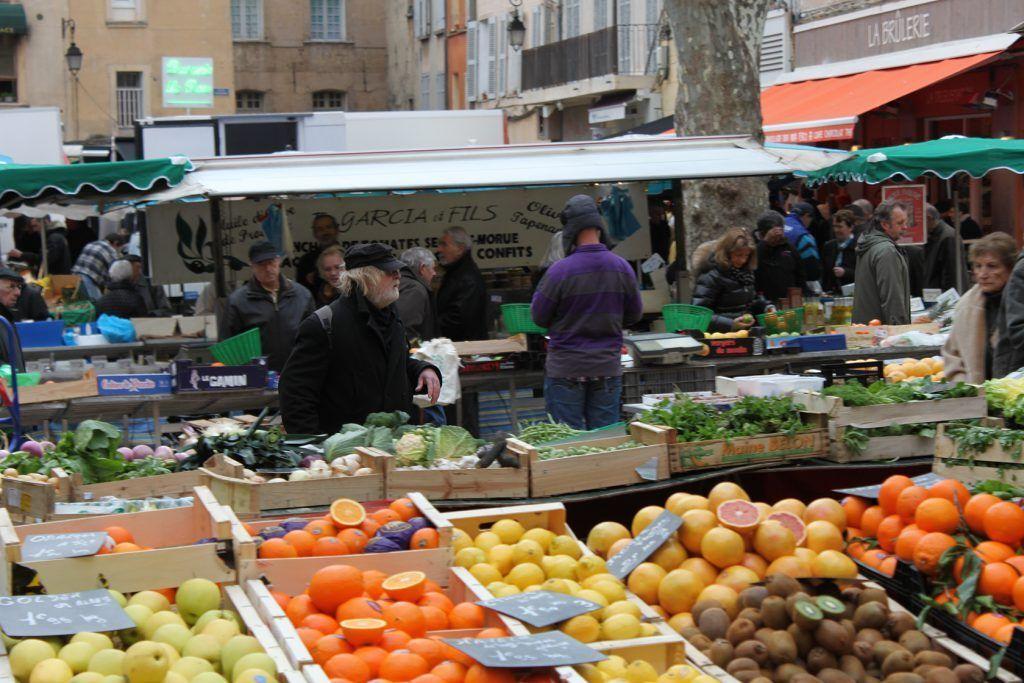 Provencal Market #AixenProvence @PerfProvence