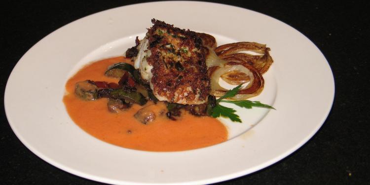 Roast Cod à la Provencal Recipe @MasdAugustine