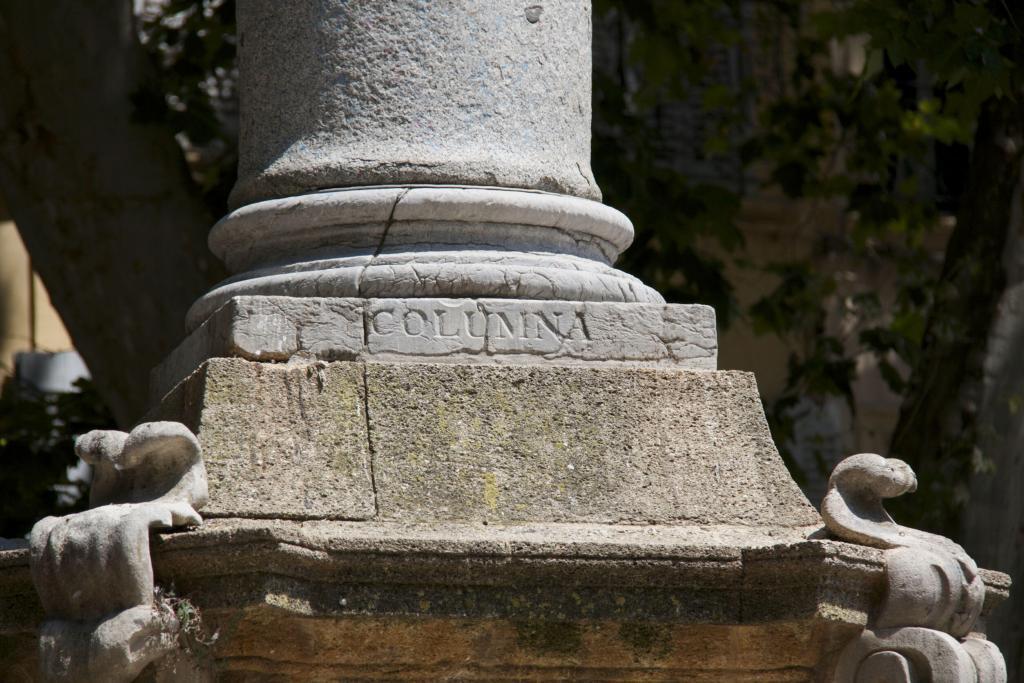 Roman column #AixenProvence @PerfProvence