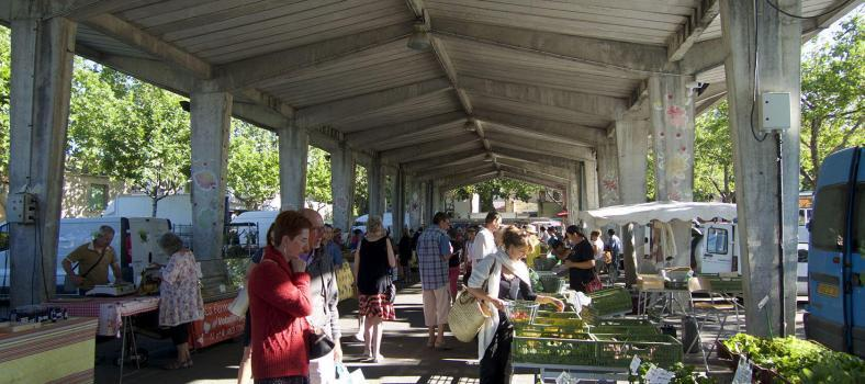 Saint Quentin la Poterie market @PerfProvence