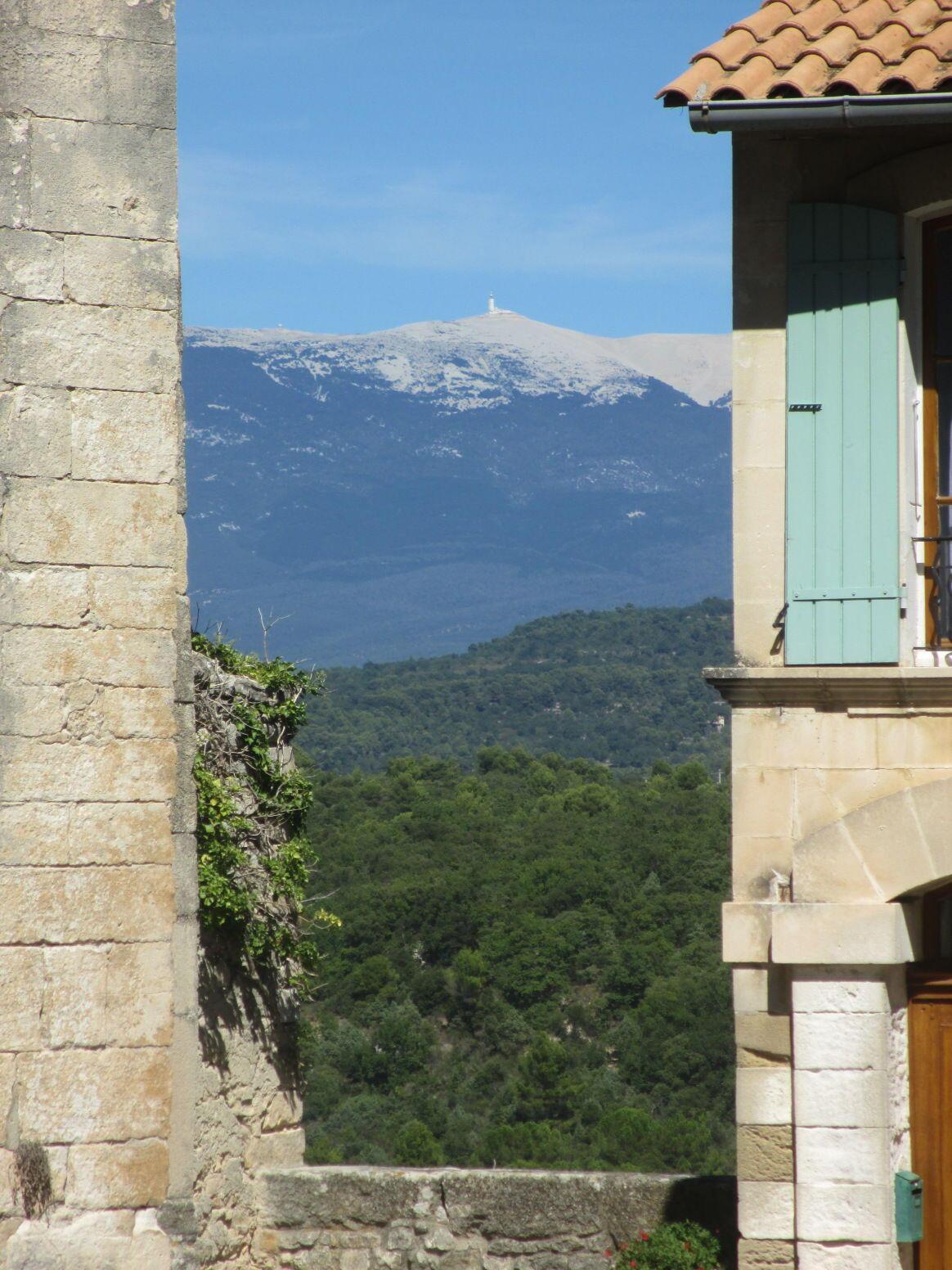 Venasque A Village With A Views Of Mont Ventoux
