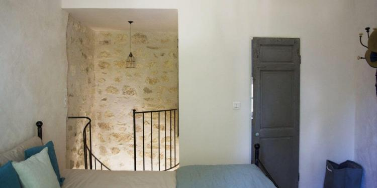 Renovation in Provence Bedroom #ExpatLiving @CuriousProvence