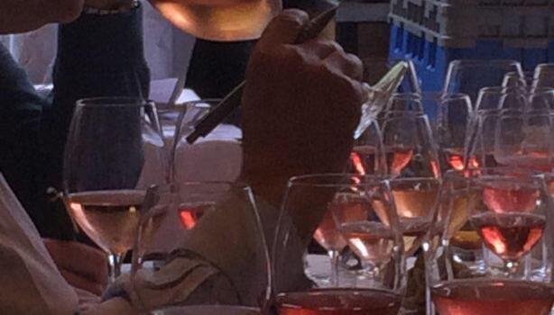Rose wine tasting @LizgabayMW