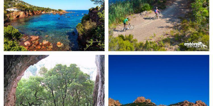 Esterels Biking and Hiking @AccessRiviera #ActiveProvence