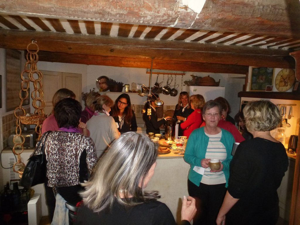 Networking in Provence @RebeccaRonane