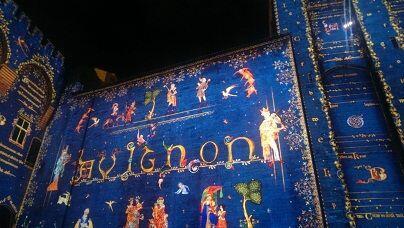 Avignon Palais des Papes @AvignonGourmetTours # luminescences