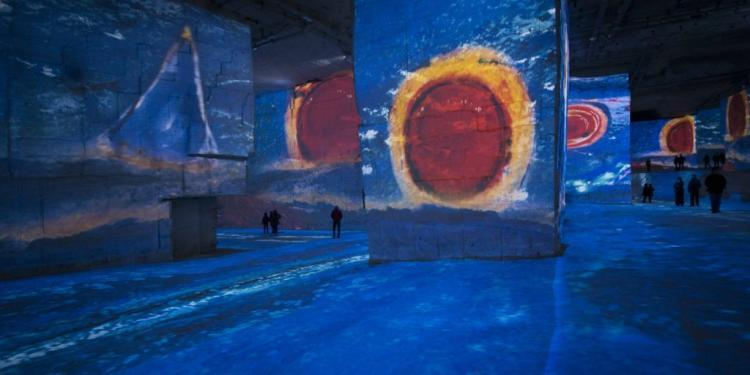 chagall Carrieres des Lumieres @CuriousProvence