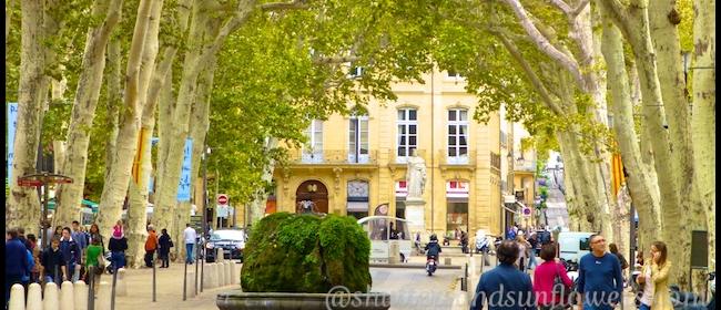 Cours Mirabeau #AixenProvence #ExploreProvence @ShutrsSunflowrs