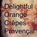 Sweet Orange Crepes @Girlgonegallic