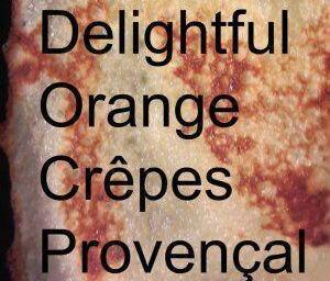 Sweet Orange Crepes