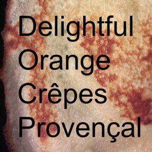 Sweet Orange Crepes