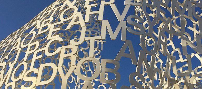Catalan artist Jaume Plensa Sculpture #Antibes #FrenchRiviera @BfBlogger2015