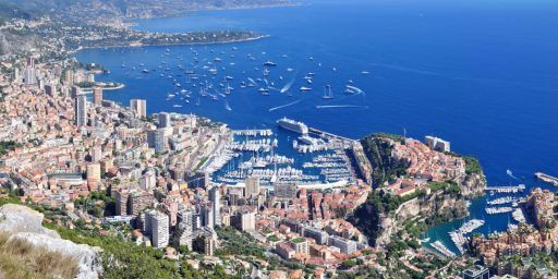 #Monaco View from la Turbie @accessriviera