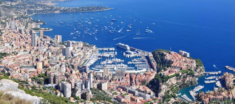 #Monaco View from la Turbie @accessriviera