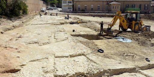 Roman Road Excavation #AixenProvence Photo from official aixenprovence website