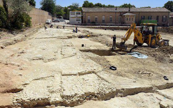 Roman Road Excavation #AixenProvence Photo from official aixenprovence website