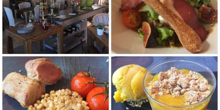 Lunch at Château la Croix des Pins @ProvenceTayls