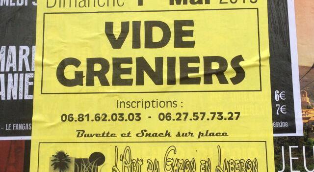Vide Greniers @VaucluseDreamer