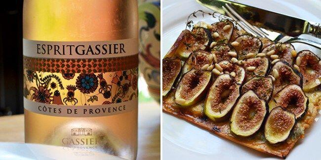 Chateau Gassier and Fig Flatbread @CocoaandLavender @Susan_PWZ