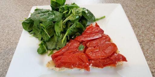 Tomato Tarte Tatin @OurhouseinProvence