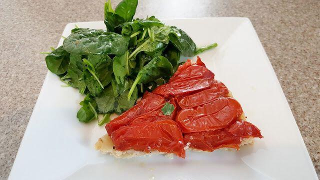 Tomato Tarte Tatin #tastesofProvence @OurhouseinProvence