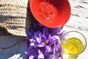 French Saffron in Provence @Girlgonegallic