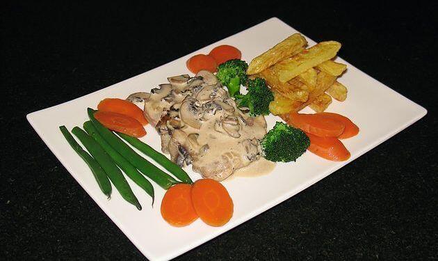Pork Tenderloin Marsala Sauce @masdaugustine