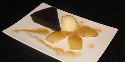 Tart of Provencal Pears and Chocolate
