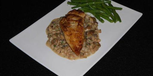 Wild Mushroom Chicken Cassoulet cannellini Recipe