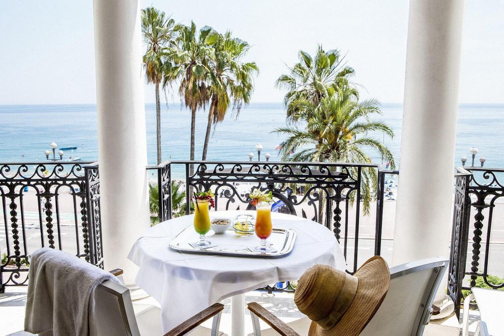 Le Negresco Sea view #HotelNegresco @NegrescoHotel