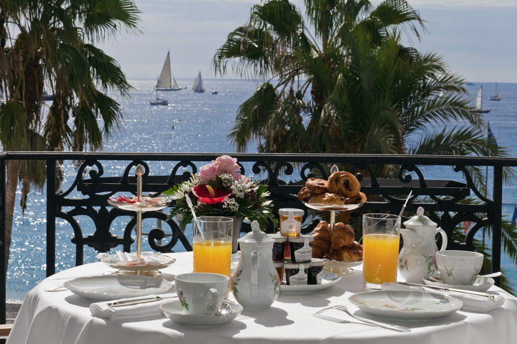 Le Negresco Breakfast #HotelNegresco @NegrescoHotel