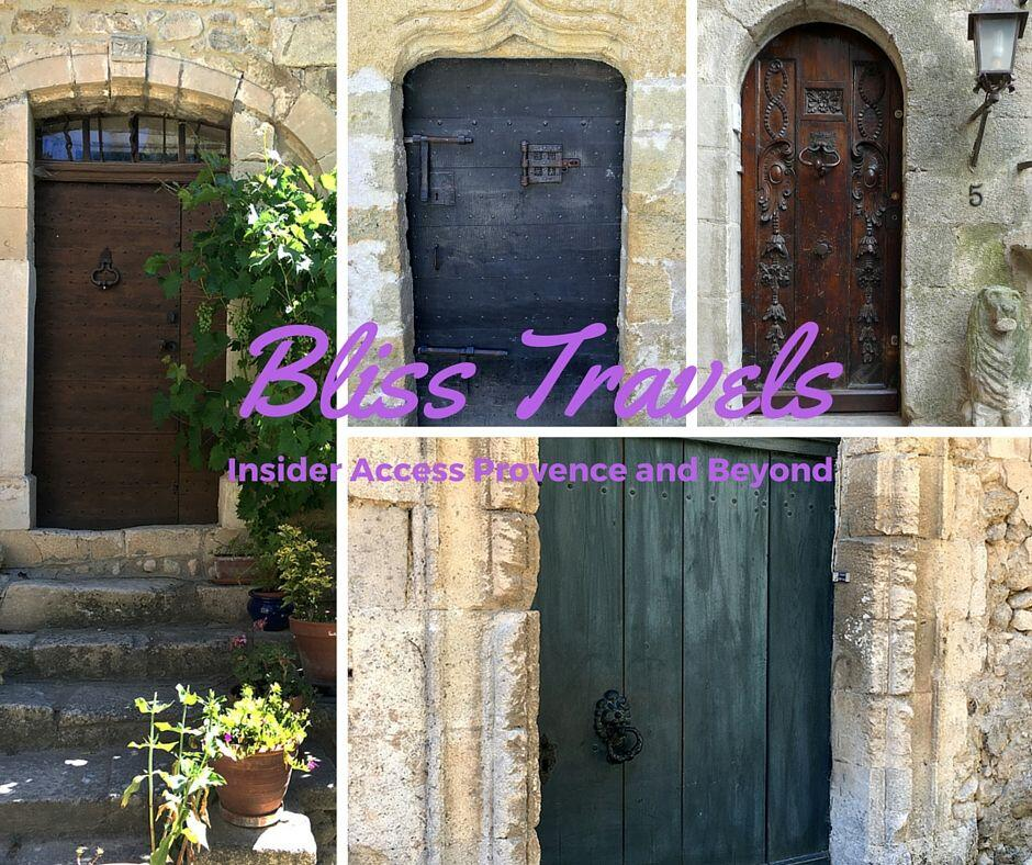 Bliss Travels Doors #BlissFR #ExploreProvence @PerfProvence @BlissinFrance