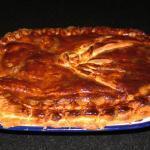 Chicken Leek and Ham Pie @Masdaugustine
