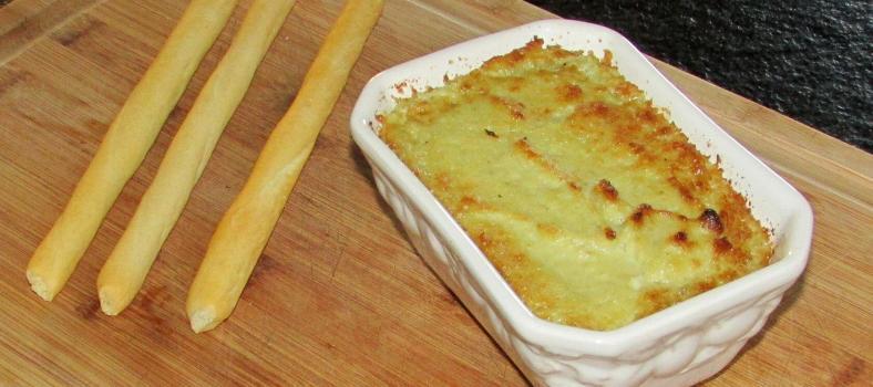 Hot Artichoke Dip @Masdaugustine