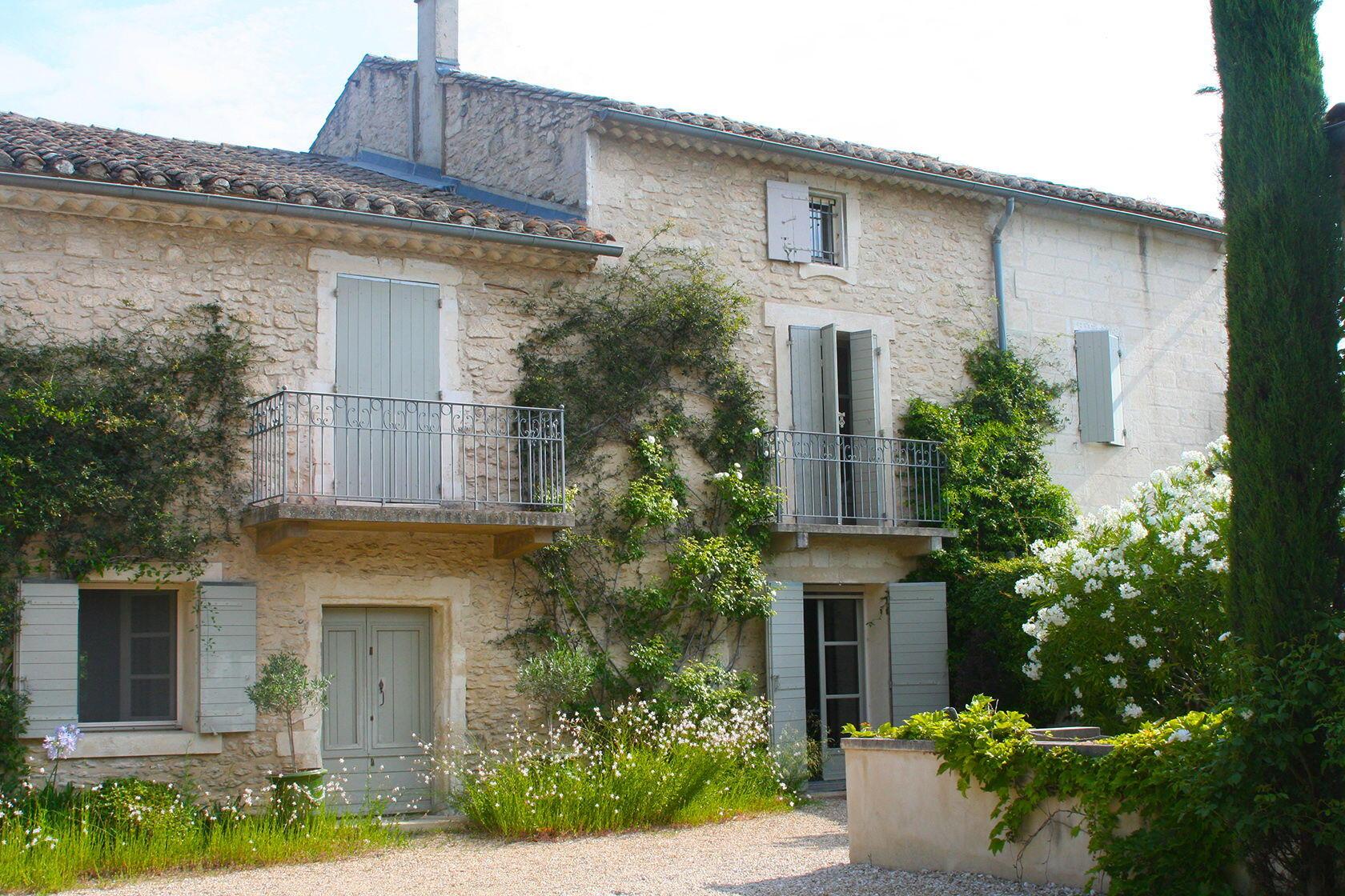 Plan De Maison Mas De Provence la maison de line ~ feel at home in saint-remy-de-provence