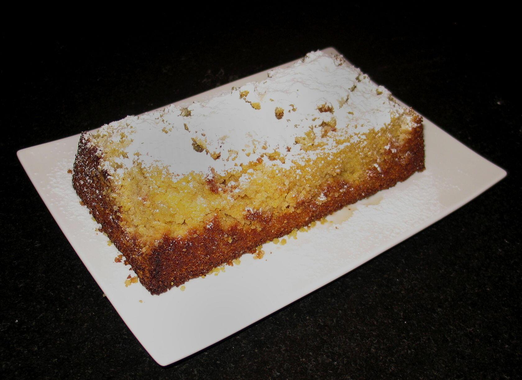 Lemon Polenta Cake @Masdaugustine