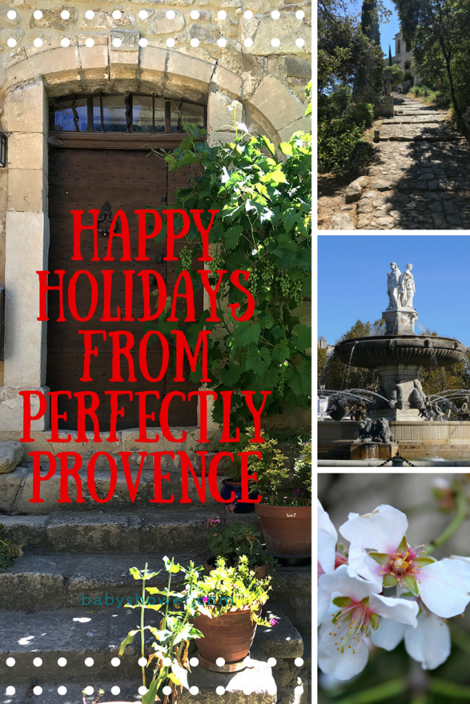 Christmas Message from Perfectly Provence @PerfProvence