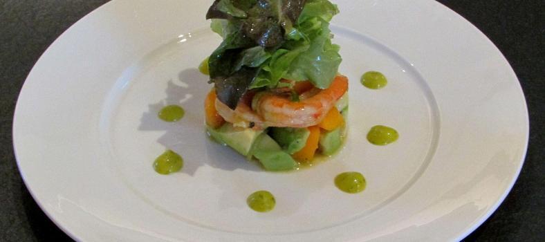 Prawn Avocado Mango Salad @Masdaugustine