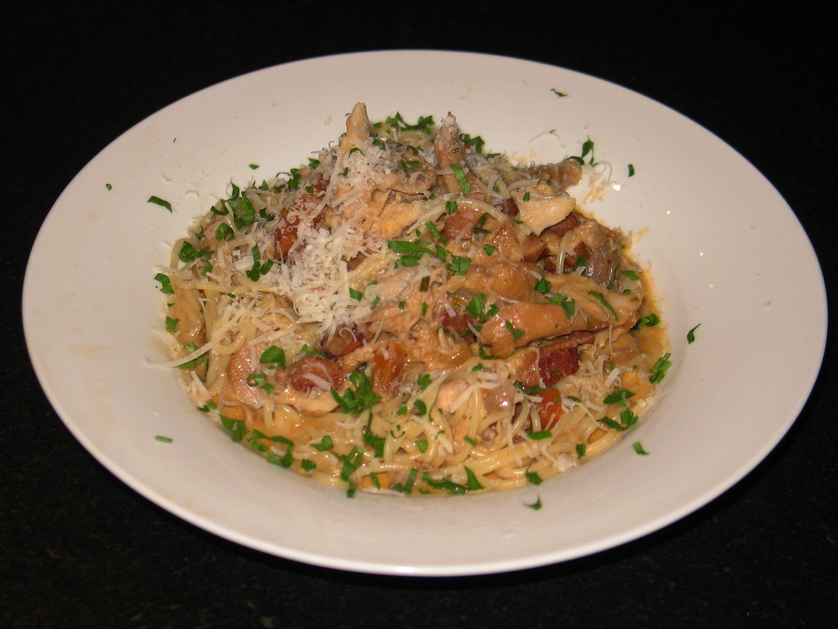 Rabbit Recipe Braised Rose Pasta @Masdaugustine