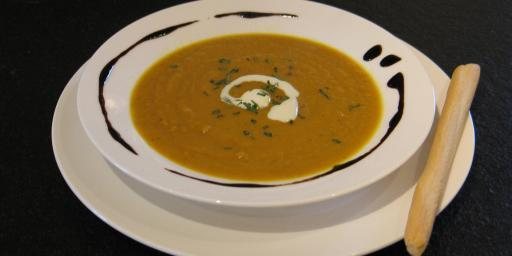 Roasted Carrot Soup @Masdaugustine