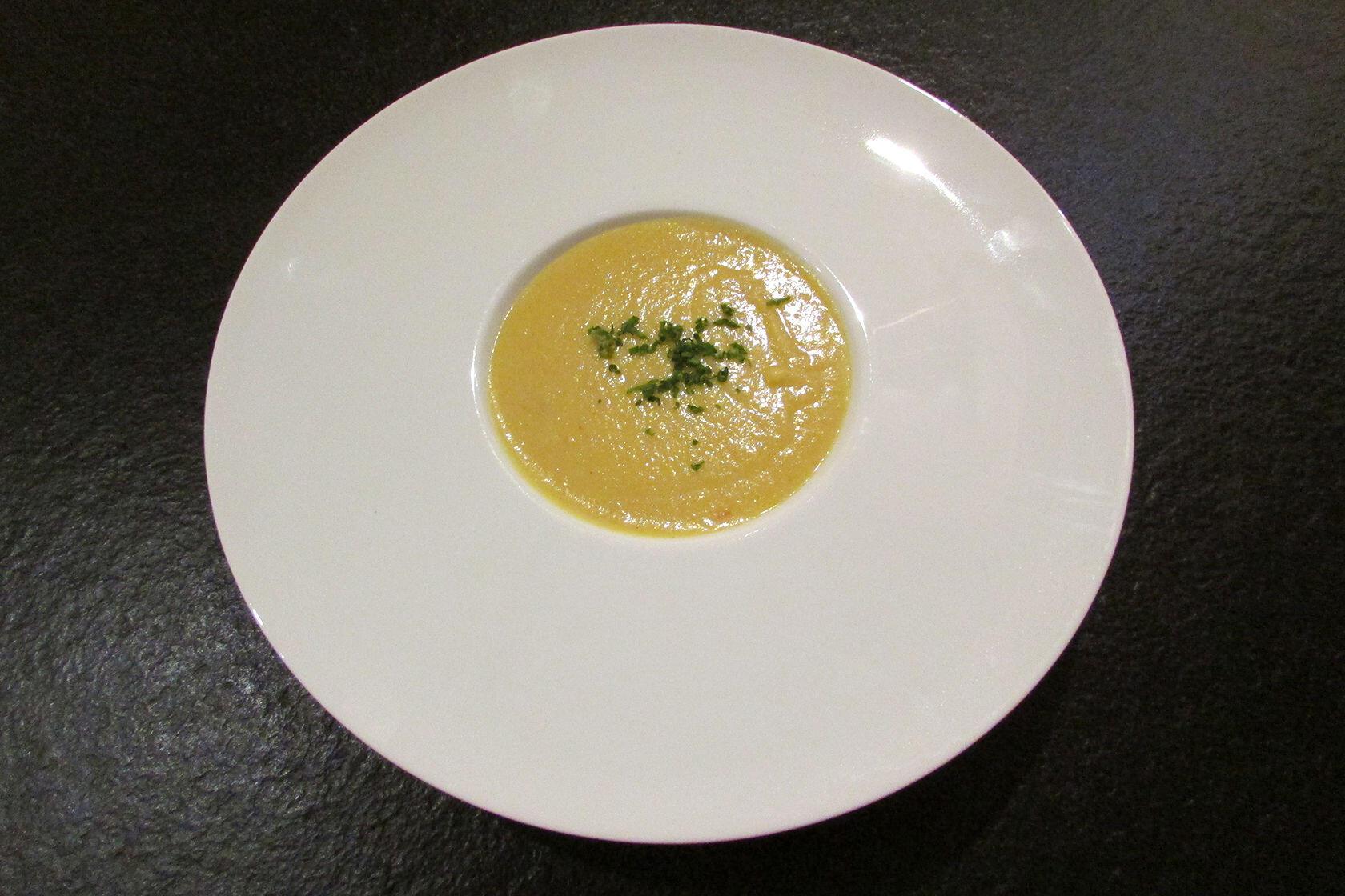 Spicy Parsnip Soup @Masdaugustine