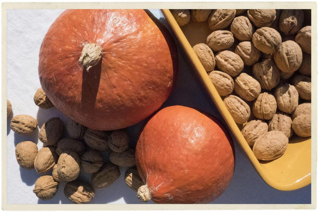 pumpkins and walnuts #TastesofProvence @TableenProvence
