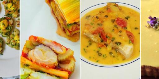 Dinner menu seafood based @CocoaandLavender #TastesofProvence