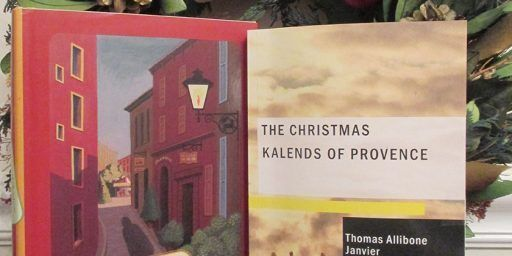 Christmas Taditions and books on Provence @maryjanedeeb