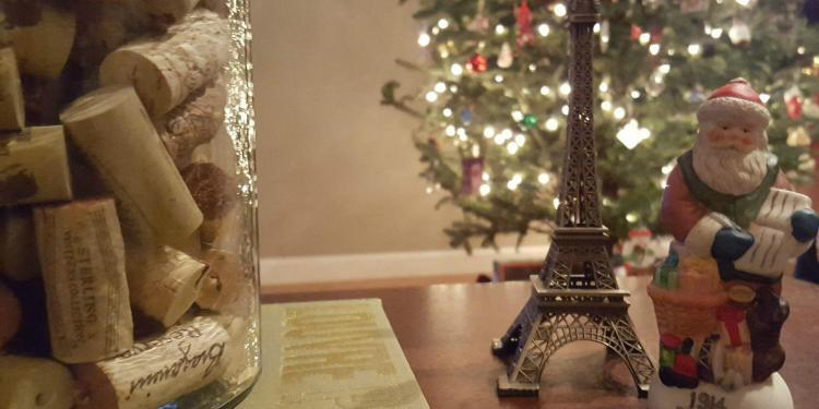 Gift Guide wine corks and Christmas tree @JillBarth
