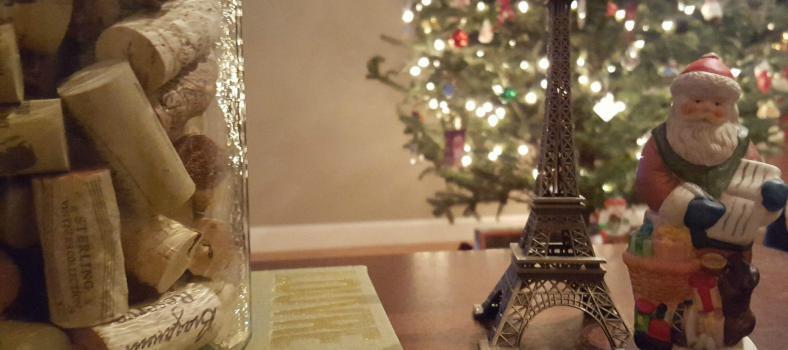 Gift Guide wine corks and Christmas tree @JillBarth